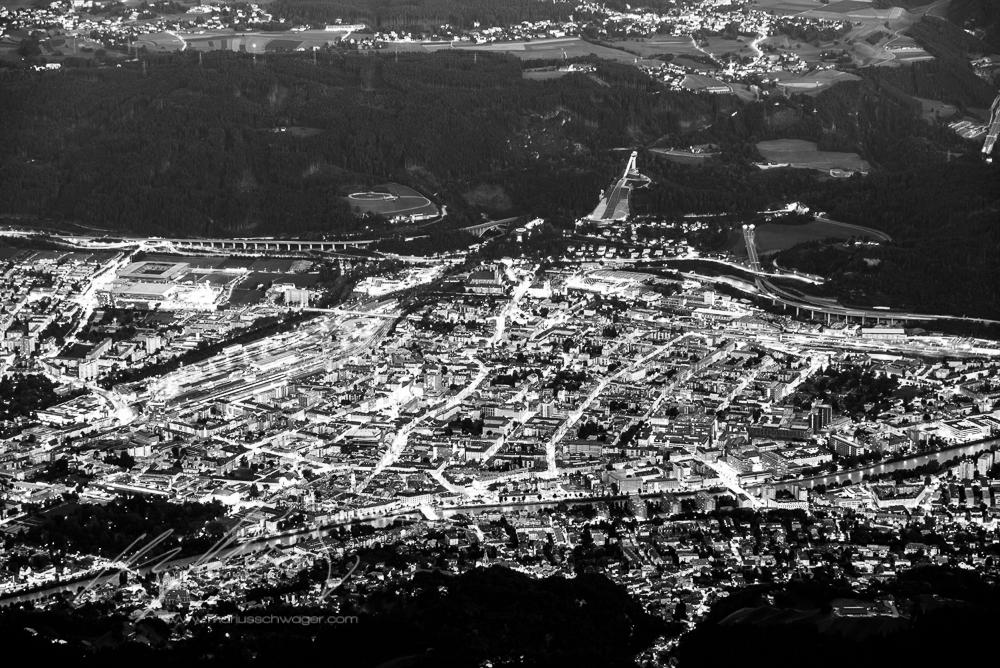 Nachtfahrt, Nordkette, Innsbruck