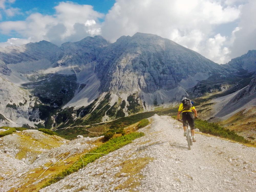 Mountainbike, Bikebergsteigen